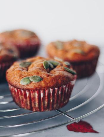 sunde græskarmuffins