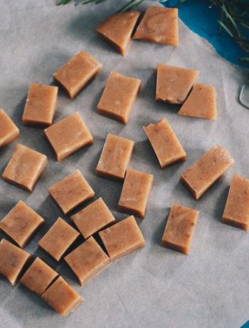 Hjemmelavede bløde karameller