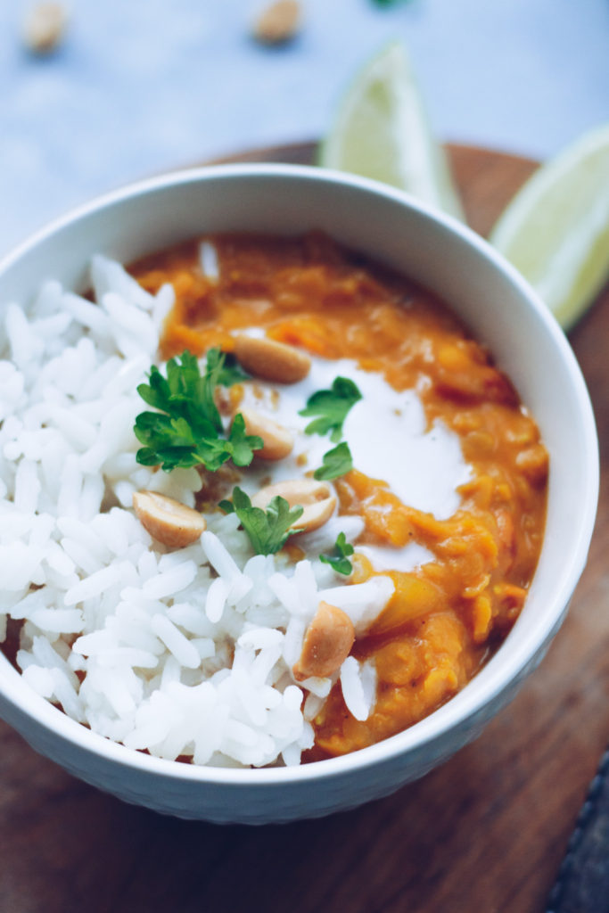 peanutbutter curry