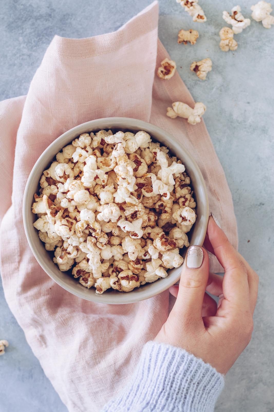 hjemmelavede popcorn