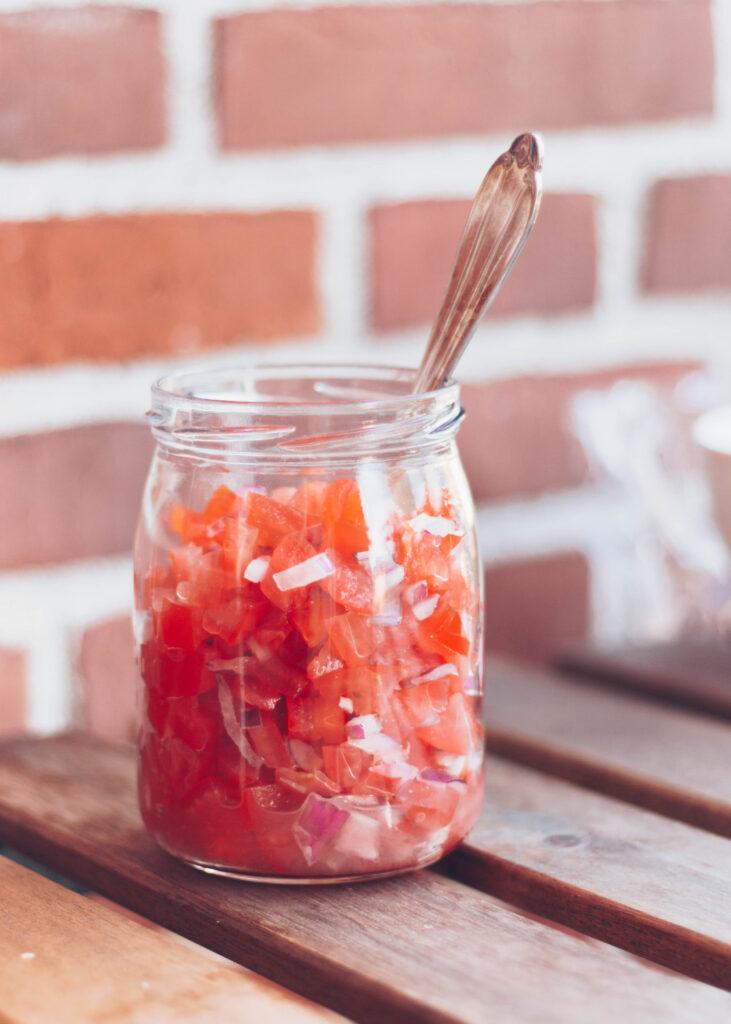 tomatsalsa med lime