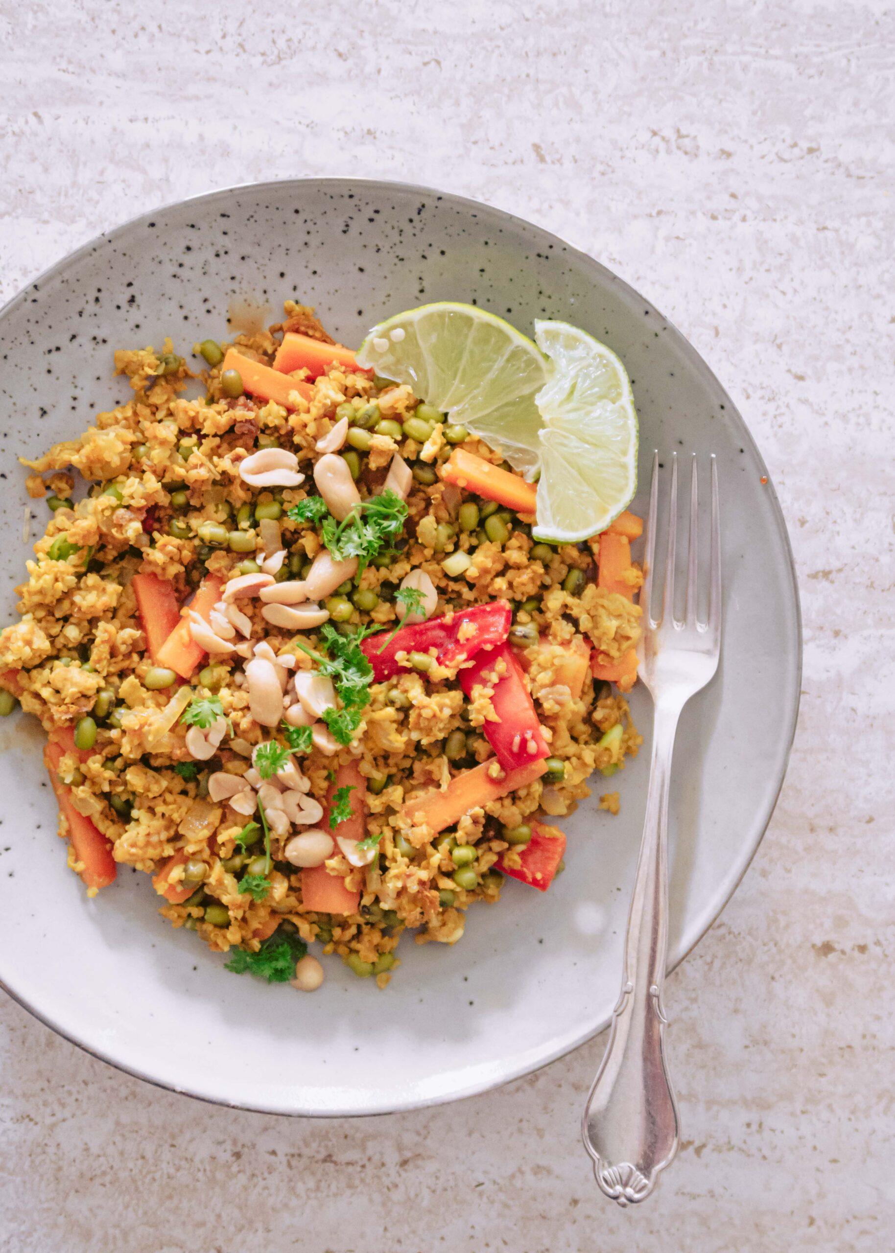 stegt quinoa