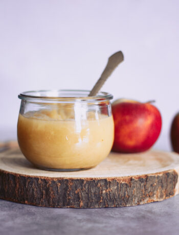 hjemmelavet æblegrød æblemos